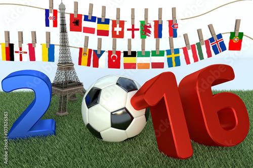 Photo  France Football 2016 european championnship