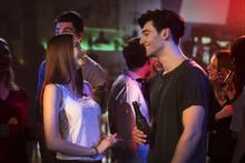 Men And Woman Flirting At The ...