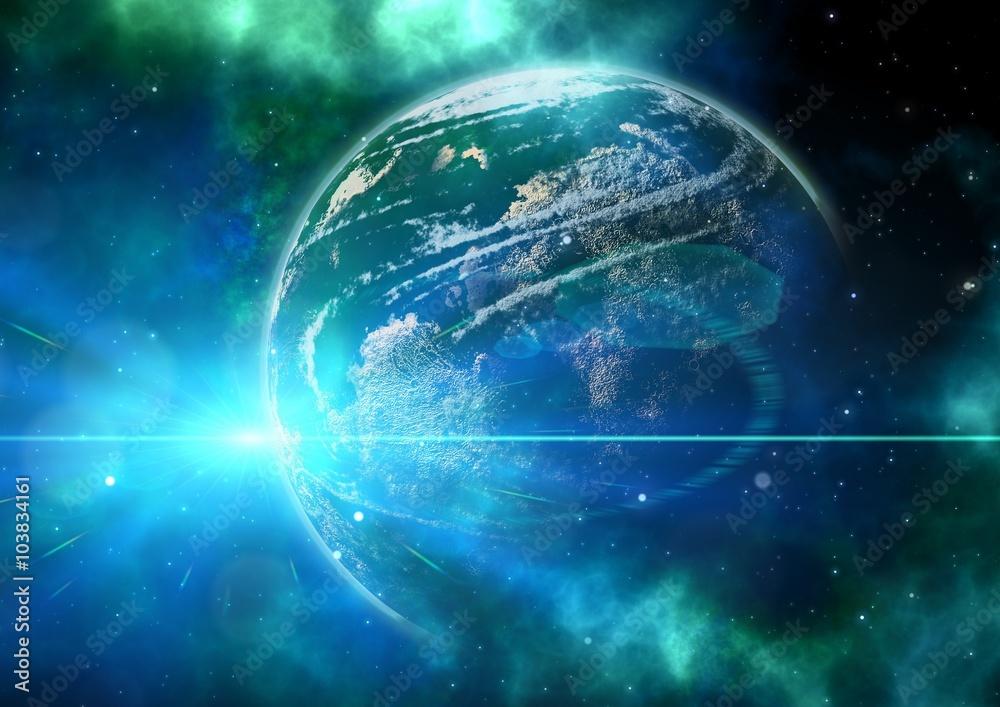 Fototapety, obrazy: Kosmos