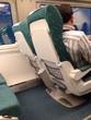 pasajero en el tren