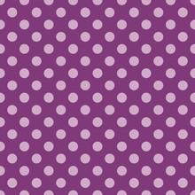 Polka Dot Purple Pattern