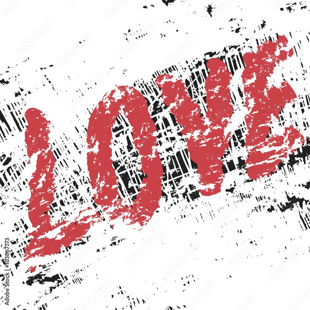 Fotografía love art vintage graffiti pattern valentine background europosters es