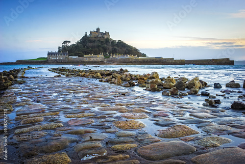 Poster Cote St Michaels Mount Cornwall