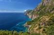 Amalfi rocky coast, Campania, Italy