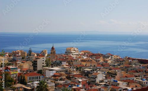 Naples Греция остров Закинф вид на город сверху