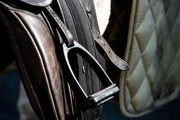 saddle brackets - detail