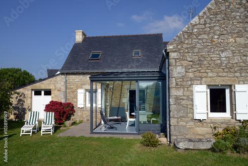 Photo  Maison bretonne rénovée