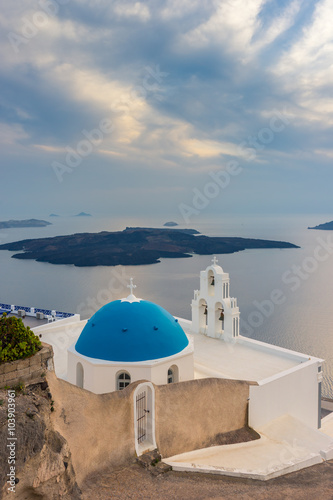 Fototapety, obrazy: Santorini Island Greece