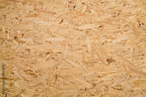 Valokuva  background of the large wood chips pressed close up