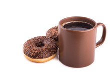 Coffee And Tasty Donuts