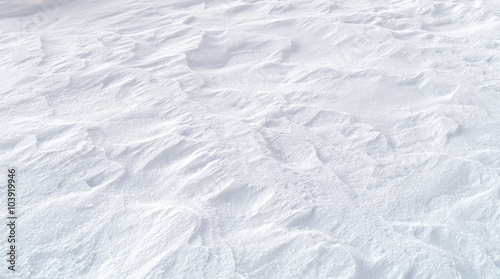 Leinwanddruck Bild - Aleksandr Matveev : snow background texture