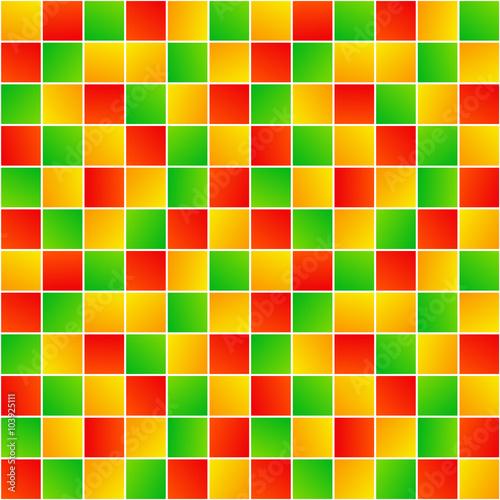 Kolorowy przypadkowych kwadratów prosty geometryczny bezszwowy wzór, wektor