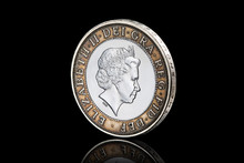 Coin. British Two Pound Coin I...
