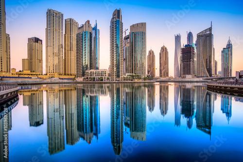 Foto auf Gartenposter Dubai Dubai Marina.