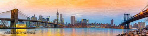 Spoed Foto op Canvas Verenigde Staten Manhattan, New York City. USA.