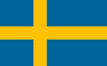 Vector Of Swedish Flag.