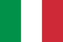 Vector Of Italian Flag.