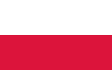 Vector of Polish flag.