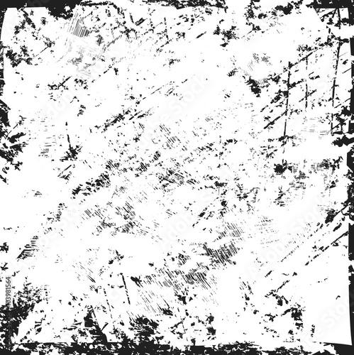 Photo grunge texture, grunge frame, distress texture