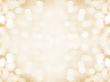 Gold Abstract Blured Background