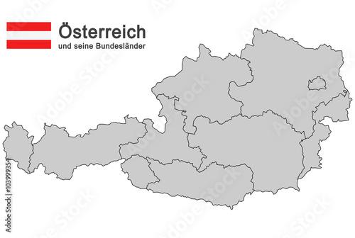 Fotografie, Obraz  country Austria
