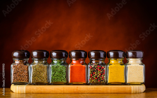 fototapeta na drzwi i meble Seeds and Spices
