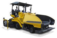 Yellow Asphalt Spreader Machine
