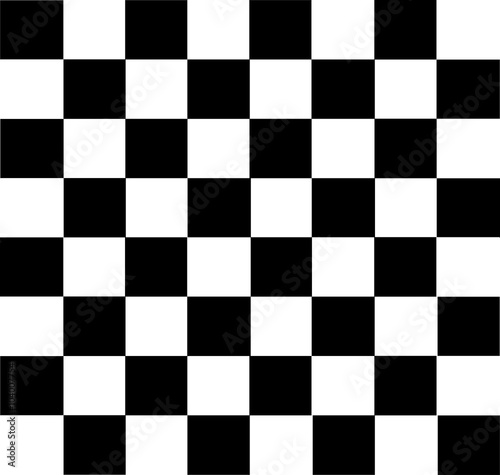 Obraz na plátně Vector modern chess board background design