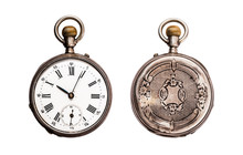 Antique Pocket Watch Isolated ...