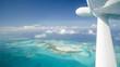 Luftaufnahme Karibik Bahamas