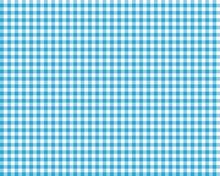 Blue Checkered Picnic Tablecloth