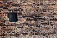 Ancient Brick Wall, Window Loc...