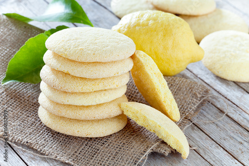 Poster Koekjes Lemon Shortbread Cookies
