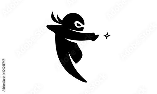ninja logo v.3 Wallpaper Mural