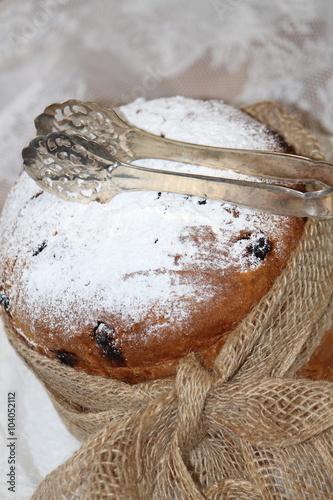 Italienischer Kuchen Panettone Kaufen Sie Dieses Foto Und Finden