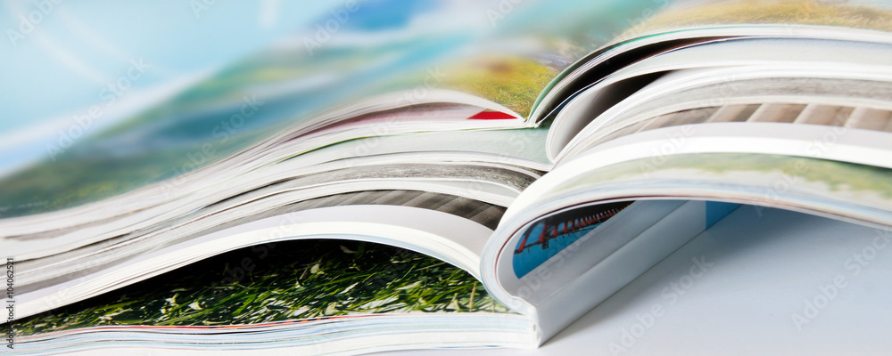 Fototapeta Zeitschriften