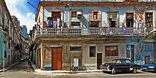 Poster Havana Cuba, Centro Habana