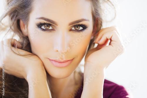 Fotografie, Obraz  Beautiful Woman In Daylight