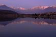 Sunset at Lake Como.