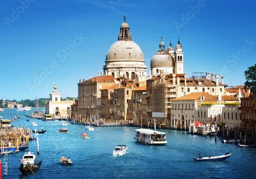 Foto  Basilika Santa Maria della Salute, Venedig, Italien