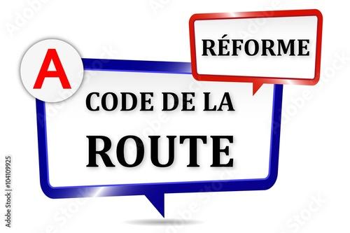 Foto  Réforme du code de la route 2016