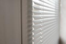Modern Plastic Shutter Blinds In Room