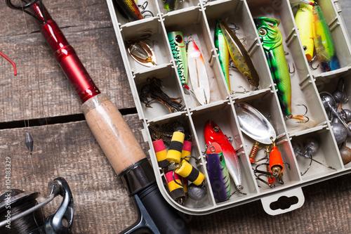 Cuadros en Lienzo Fishing gear
