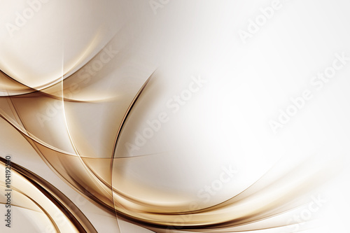 Abstract Gold Wave Design Background #104192540