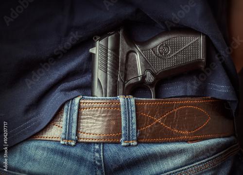 Fotografía  Hidden gun