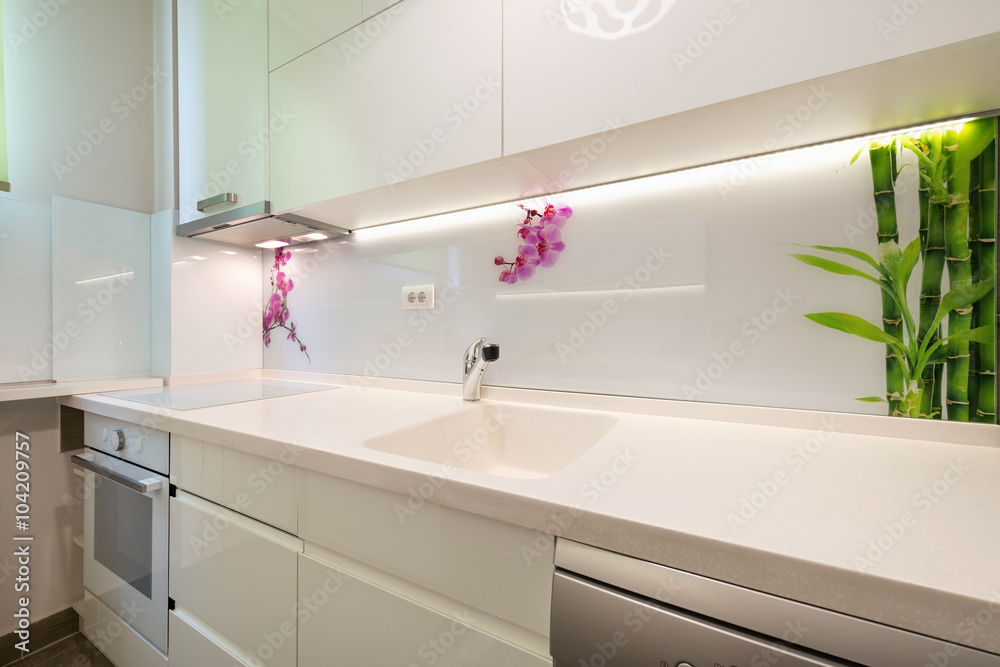Fototapeta Kitchen interior
