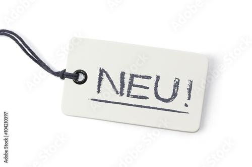 Fotografia  Neu! - Label