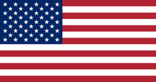 United States Of America Flag. The Correct Proportions And Color
