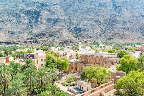 Rustaq town in Al Batinah Region, Oman  It is located about