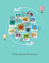 Travel Around The World Backgr...